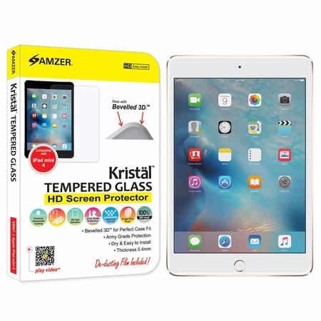 Tempered Glass HD Screen Protector for iPad Mini 4
