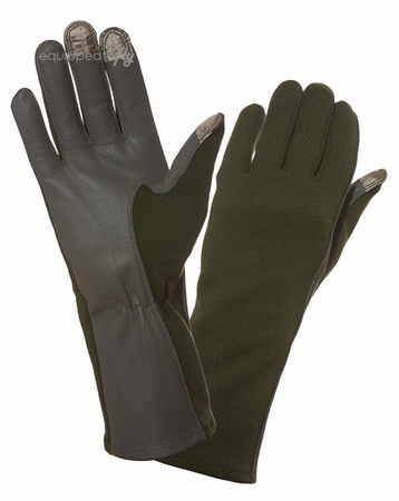 Three Finger Capacitive Flight Gloves