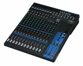 16-Channel Mixing Console: Max. 10 Mic / 16 Line Inputs (8 mono + 4 stereo) / 4 GROUP Buses + 1 Stereo Bus / 4 AUX (incl. FX) � MG16