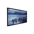 "Accuscreen Fixed Frame Projection Screen 7' NTSC SoundScreen High Contrast Gray - 50.5"" x 67"" Viewing Area - Matte White - 800021"