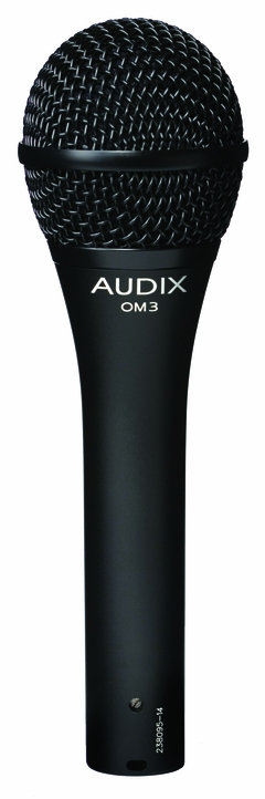 Audix Dynamic Vocal Microphone with On/Off Switch - OM3S