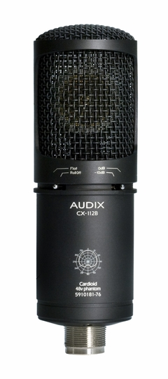 Audix Large Diaphragm Studio Condenser Microphone - CX112B