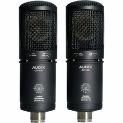 Audix Large Diaphragm Studio Condenser Microphone - Matched Pair - CX112BMP