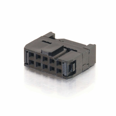 Cables To Go 10 Pin Female Idc Flat Ribbon Connector 02140