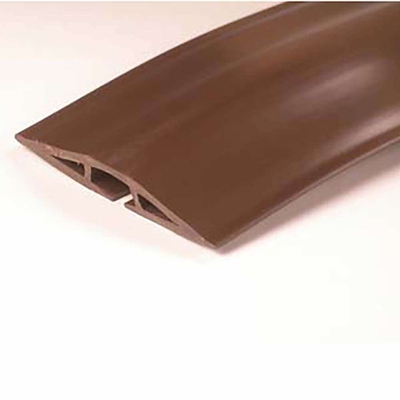 cables to go 15ft wiremold corduct overfloor cord protector brown 16330. Black Bedroom Furniture Sets. Home Design Ideas