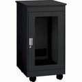 "Chief 20U, 28"" Deep Black F1 Series Rack - YF1F2028B"