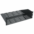 "Chief 3U, 18"" Deep Vented Utility Shelf - UTVS-3-18"
