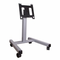 Chief Large Confidence Monitor Cart 3' to 4' (Silver) - PFMUS
