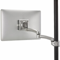 ChiefKontour� K2P Silver Pole Mount Articulating Arm, Single Monitor-K2P120S