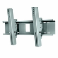 """Ciil Wind Rated Tilt Wall Mount for 32"""" - 65"""" Outdoor Flat Panel Displays - Wind Rated to 110mph  - EWMU-S (Silver)"""