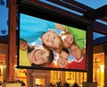 Draper Nocturne/Series C - Crank Operated Outdoor Projection Screen