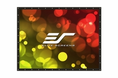 """Elite Screens DIY PRO 114"""" Front Projection Screen, DynaWhite Fabric - DIY114H1"""