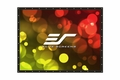 """Elite Screens DIY PRO 133"""" Front Projection Screen, DynaWhite Fabric - DIY133H1"""