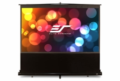 """Elite Screens ezCinema 120"""" Front Projection Screen, MaxWhite® Fabric - F120NWH"""