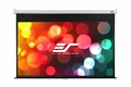 """Elite Screens Manual 96"""" x 96"""" Front Projection Screen, MaxWhite Fabric - M136XWS1"""