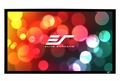 """Elite Screens Sable Frame 115"""" Front Projection Screen, AcousticPro 1080P3 Fabric - ER115WH1W-A1080P3"""