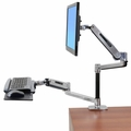 Ergotron WorkFit-LX, Sit-Stand Desk Mount System - 45-405-026