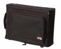 Gator Cases 2U Lightweight rack bag with aluminum frame and PE reinforcement - GR-RACKBAG-2U