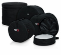 "Gator Cases 5-Piece Set of Padded Nylon Bags for Fusion Drum Set: 22""X18"", 10""X9"", 12""X10"", 16""X16"", 14""X5.5"" - GP-FUSION16"