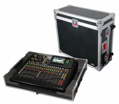 Gator Cases ATA Wood Flight Case for Behringer X-32 Compact mixer - G-TOUR X32CMPCTW