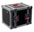 "Gator Cases ATA Wood Flight Half Rack Case; 6U;  8"" depth - G-TOUR 6UHR"