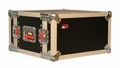 "Gator Cases ATA Wood Flight Rack Case; 6U; 15"" Deep - G-TOUR EFX6"