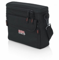"""Gator Cases Bag to accommodate half rack wireless """"In Ear"""" monitoring system. Storage for transmitter, ear buds, receiver body back, and power supply - G-IN EAR SYSTEM"""