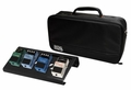 Gator Cases Black Small aluminum pedal board with Gator carry bag and bottom mounting power supply bracket. Power supply not included. - GPB-LAK-1