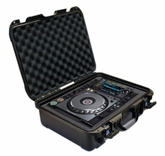 Gator Cases Black Waterproof Injection Molded Case with Custom Foam Insert for Pioneer CDJ-2000 or 2000 Nexus - G-CD2000-WP