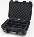 "Gator Cases Black waterproof injection molded case with interior dimensions of 15"" x 10.5"" x 6.2"".  INTERNAL DIVIDER SYSTEM - GU-1510-06-WPDV"
