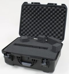 """Gator Cases Black waterproof injection molded case with interior dimensions of 20"""" x 14"""" x 8"""". DICED FOAM - GU-2014-08-WPDF"""
