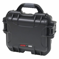 "Gator Cases Black waterproof injection molded case with interior dimensions of 9.4"" x 7.4"" x 5.5"" . NO FOAM - GU-0907-05-WPNF"