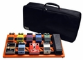 Gator Cases British Orange Large aluminum pedal board with Gator carry bag and bottom mounting power supply bracket. Power supply not included. - GPB-BAK-OR