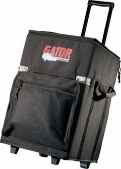 """Gator Cases Cargo Case w/ Lift-Out Tray, Wheels, Retractable Handle; 13.5""""X12.75""""X14"""" Int. - GX-20"""