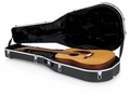 Gator Cases Deluxe Molded Case for 12-String Dreadnought Guitars - GC-DREAD-12