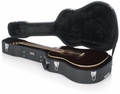 Gator Cases Deluxe Wood Case for Dreadnought Guitars - GW-DREAD