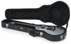 Gator Cases Deluxe Wood Case for Single-Cutaway Guitars such as Gibson Les Paul® - GW-LPS