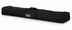 """Gator Cases Dual Compartment Speaker Stand Bag with 50"""" interior. Holds 2 speaker stands - GPA-SPKSTDBG-50DLX"""