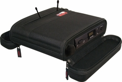 Gator Cases EVA Foam Case for A Single Wireless Mic System; half rack - GM-1WEVAA