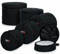 "Gator Cases Fusion Drum Set Bags: 22""X18"", 10""X9"", 12""X10"", 14""X12"", 14""X5.5"" - GP-FUSION-100"