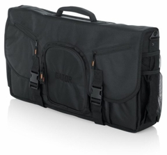 """Gator Cases G-Club Series Messenger Style Bag to hold Laptop based DJ midi Controllers up to 25"""", laptop, and headphones - G-CLUB CONTROL 25"""