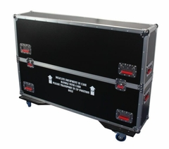 """Gator Cases G-TOUR case designed to easily adjust and fit most LCD, LED or plasma screens in the 37"""" to 43"""" class. Interior dims 43 X 6.3 X 30.5 - G-TOURLCDV2-3743"""
