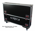 "Gator Cases G-TOUR case designed to easily adjust and fit two LCD, LED or plasma screens in the 50"" to 55"" class. Interior dims 55 X 6.3 X 35 (X2) - G-TOURLCDV2-5055-X2"