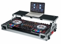 Gator Cases G-TOUR Road Case Custom Fit for Pioneer DDJ-RZ/SZ Controller with Sliding Laptop Platform - G-TOURDSPDDJSZRZ