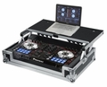 Gator Cases G-TOUR Road Case Custom Fit for Pioneer DDJ-SR Controller with Sliding Laptop Platform - G-TOURDSPDDJSR