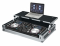 Gator Cases G-TOUR Universal Fit Road Case for Large Sized DJ Controllers with Sliding Laptop Platform - G-TOURDSPUNICNTLA