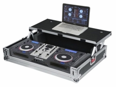 Gator Cases G-TOUR Universal Fit Road Case for Medium Sized DJ Controllers with Sliding Laptop Platform - G-TOURDSPUNICNTLB