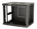 "Gator Cases Gator Rackworks Fixed Wall Mounted Rack; 12U, 17"" Deep; Steel Front Door - GRW1012508"