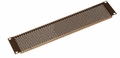 "Gator Cases Gator Rackworks Slotted Panel; 5/32"" Vent Holes; 1.2mm; Flanged for Rigidity; 1U - GRW-PNLPRF1"