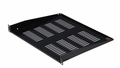 "Gator Cases Gator Rackworks Utility Shelf, 15"" Deep; 1U; w/ Elongated Vent Holes for Air Circulation - GRW-SHELFVNT1"